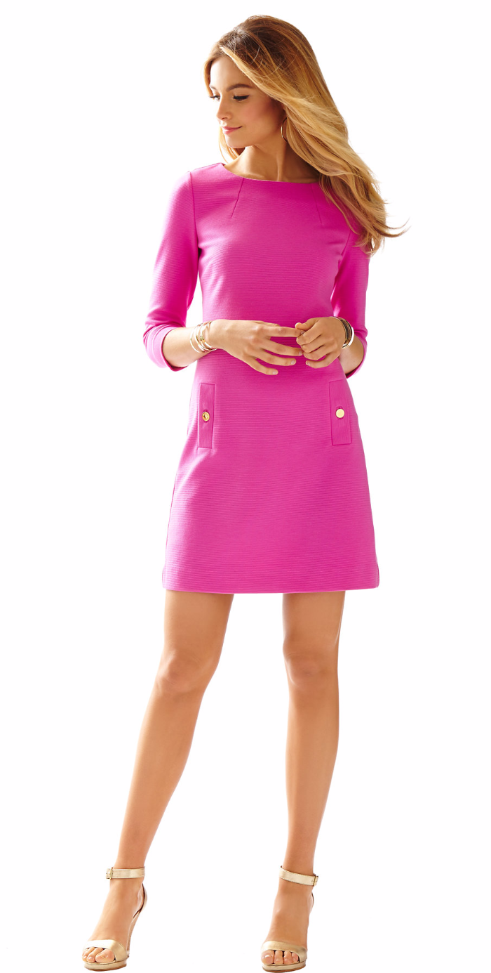 Vestido rosa | Fiesta Pink | Pinterest | Chic outfits, Casual chic ...