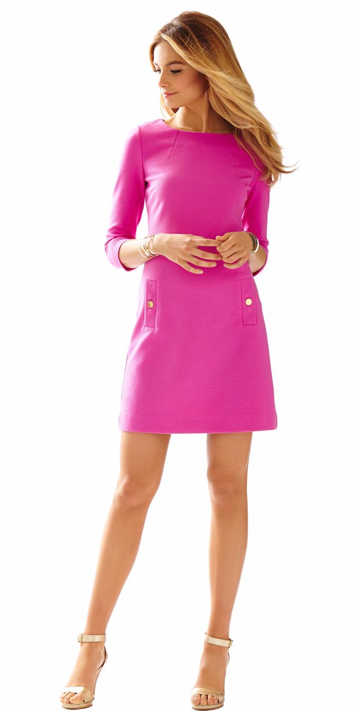 Vestido rosa | Fiesta Pink | Pinterest | Vestido rosado, Vestiditos ...