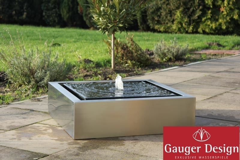 gartenbrunnen edelstahl calina garten brunnen pinterest gartenbrunnen edelstahl. Black Bedroom Furniture Sets. Home Design Ideas