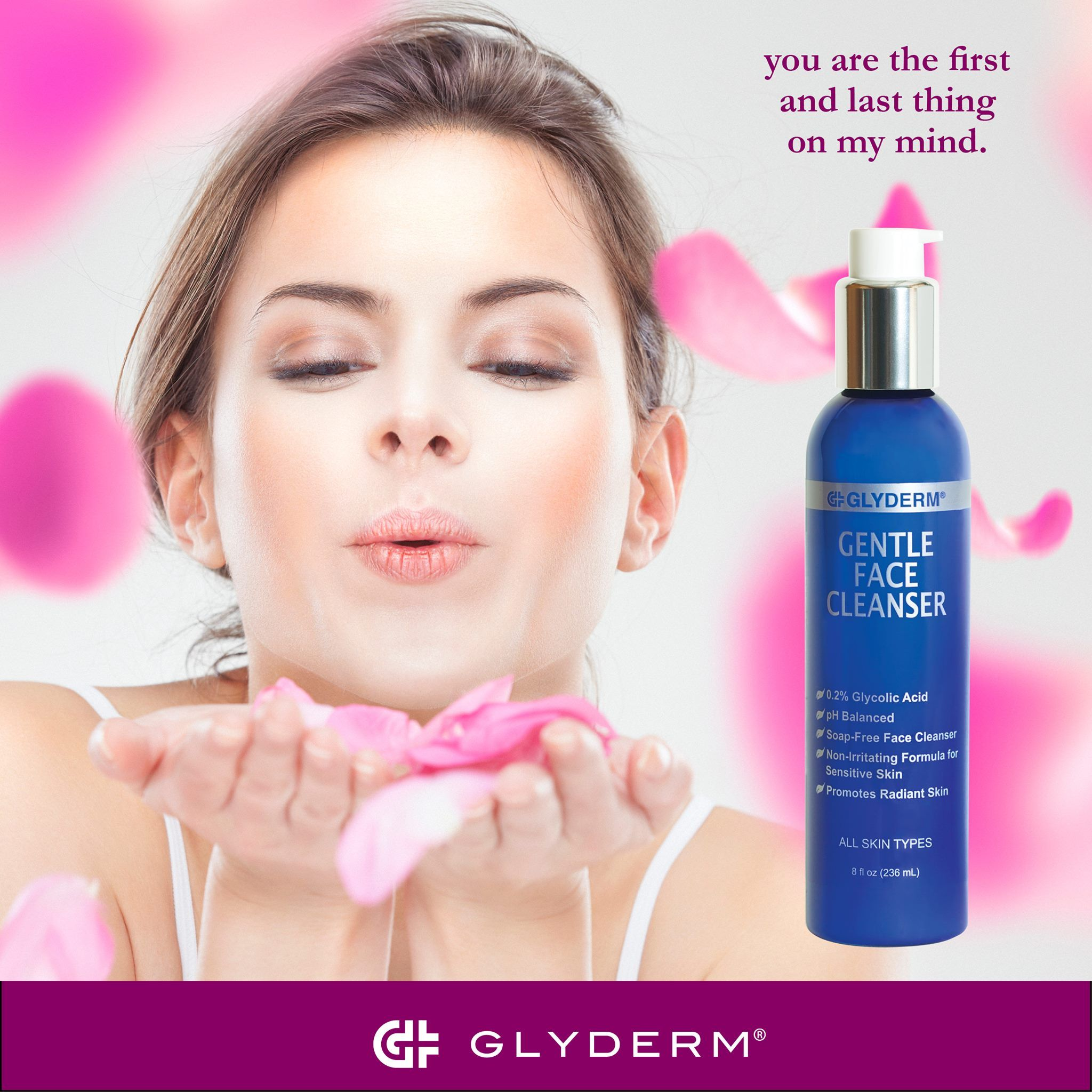 Glyderm facial cleanser consider, what