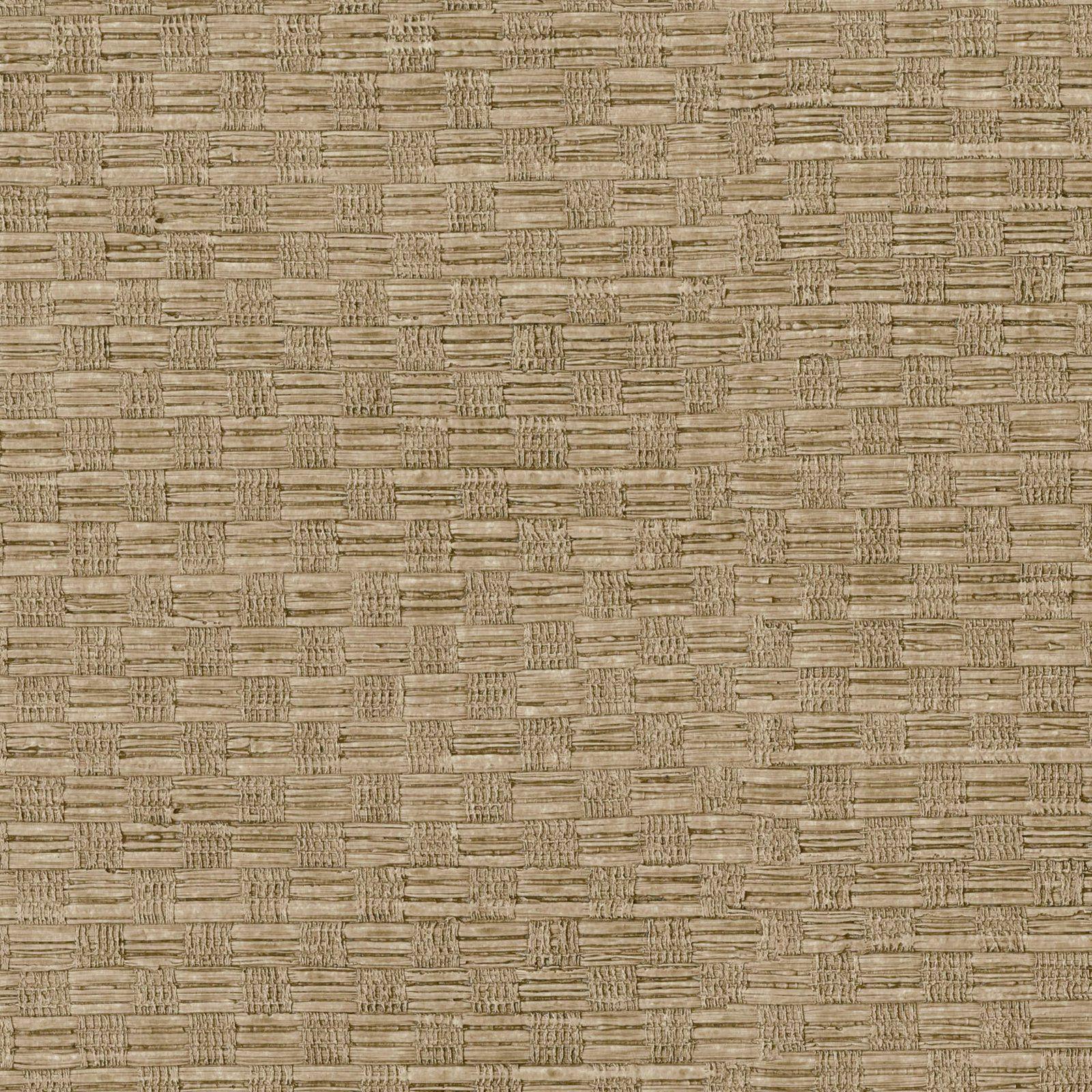 Warner Textures Woven Texture Wallpaper Light Brown