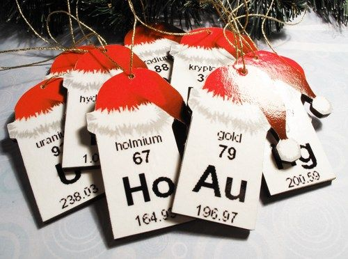 Periodic Table Christmas Ornaments Http Www Artfire Ext Product View 5256979