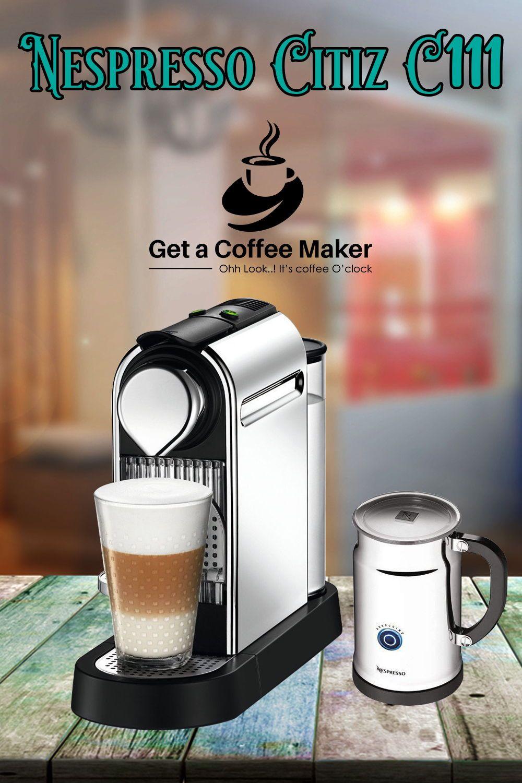 Nespresso Citiz C111 Espresso Maker (Oct. 2018) Get a