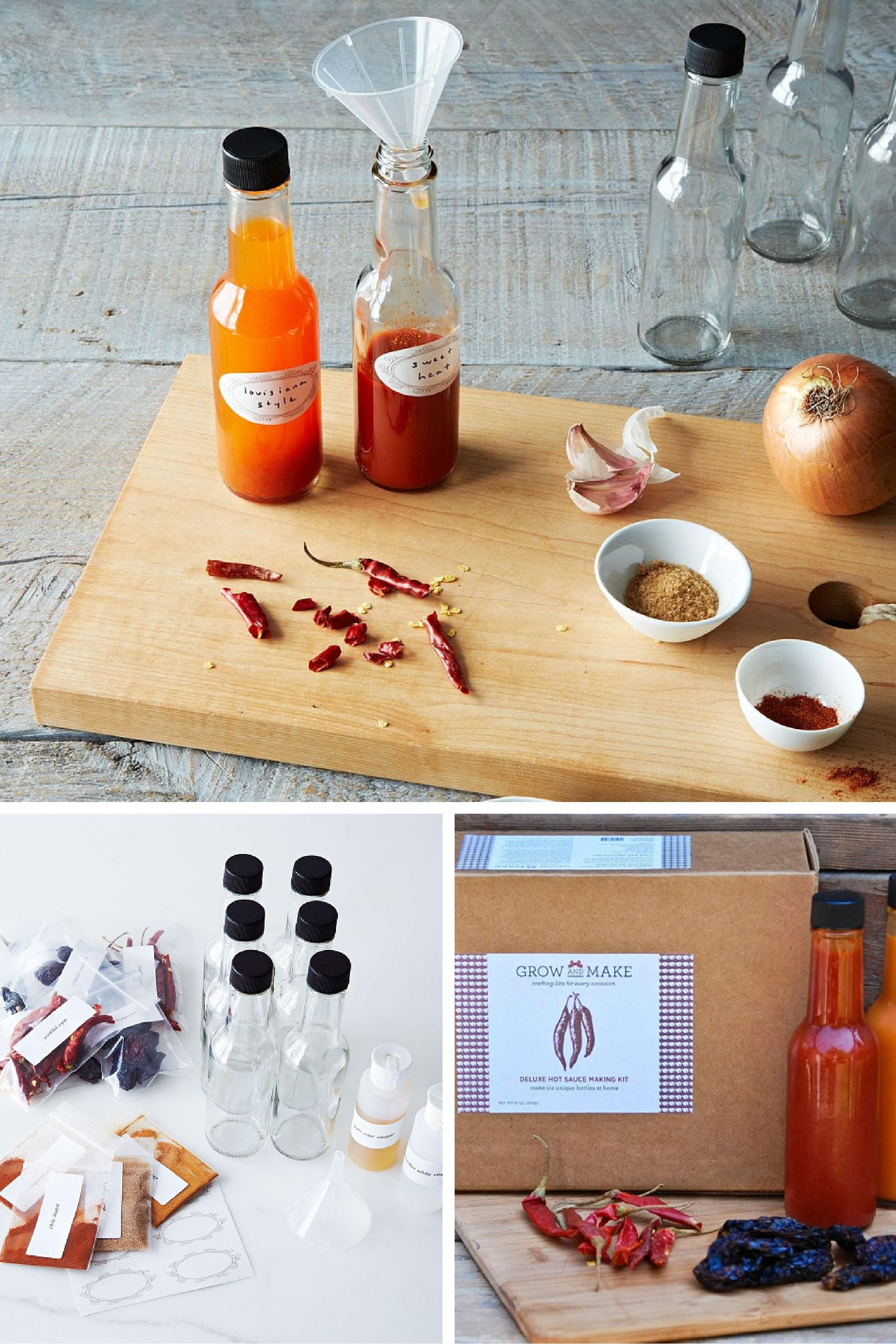 This hotsauce kit is the perfect gift for your spice