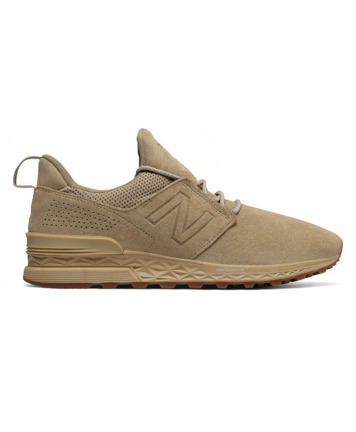 Homme New Balance 574 Chaussure Brown et Beige | New balance 574 ...