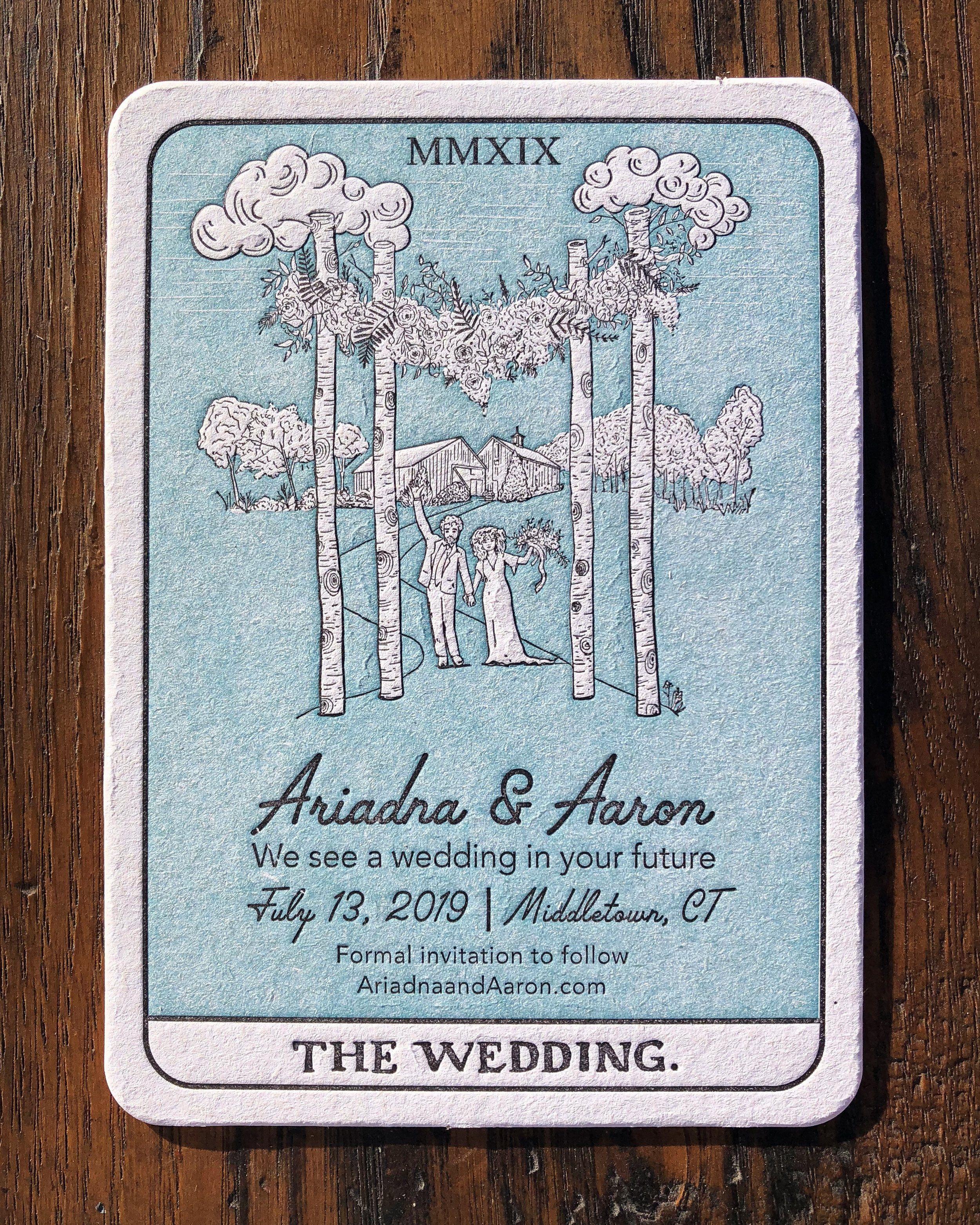 pin on letterpress wedding invites