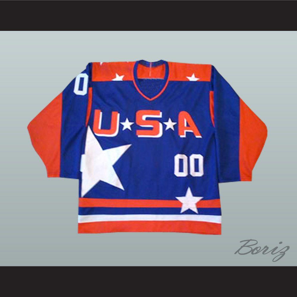 339b585c4 Boriz Customs - The Mighty Ducks Movie D2 Team USA 00 Guy Germaine (Garette  Ratliff