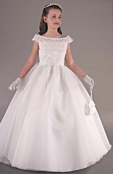 Vestidos de comunion tipo princesa