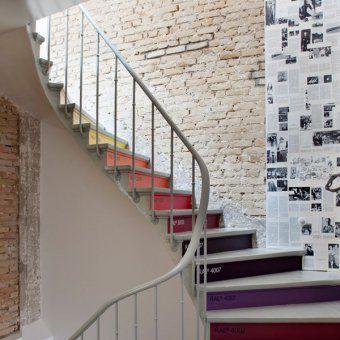 Best Escalier Avec Contremarches Décorées À La Manière Du 640 x 480