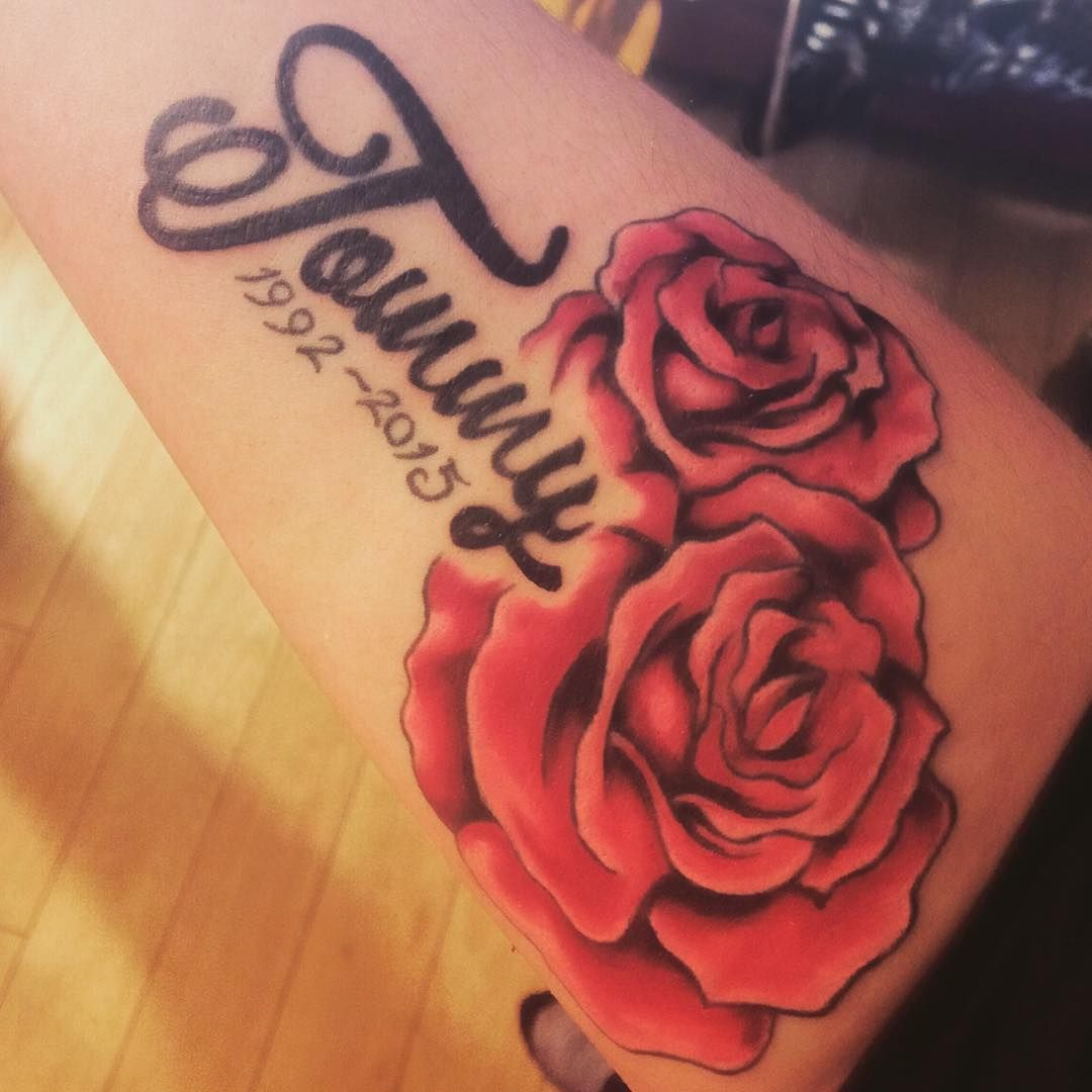 Tattoo Quotes Rip: Rip Tattoo Design With Name