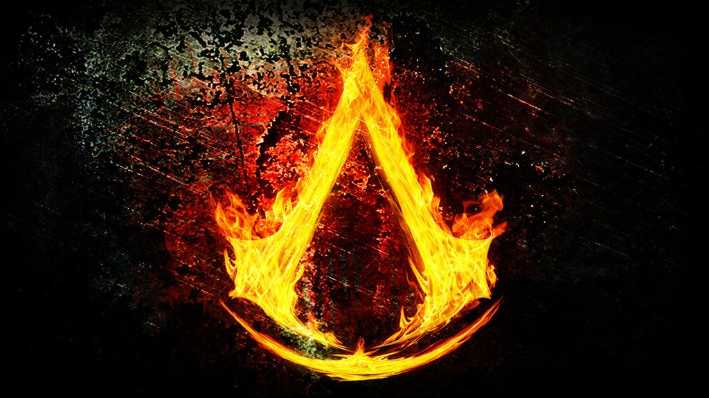 Assassin's Creed Logo Fire by ThunderboltMmo on deviantART