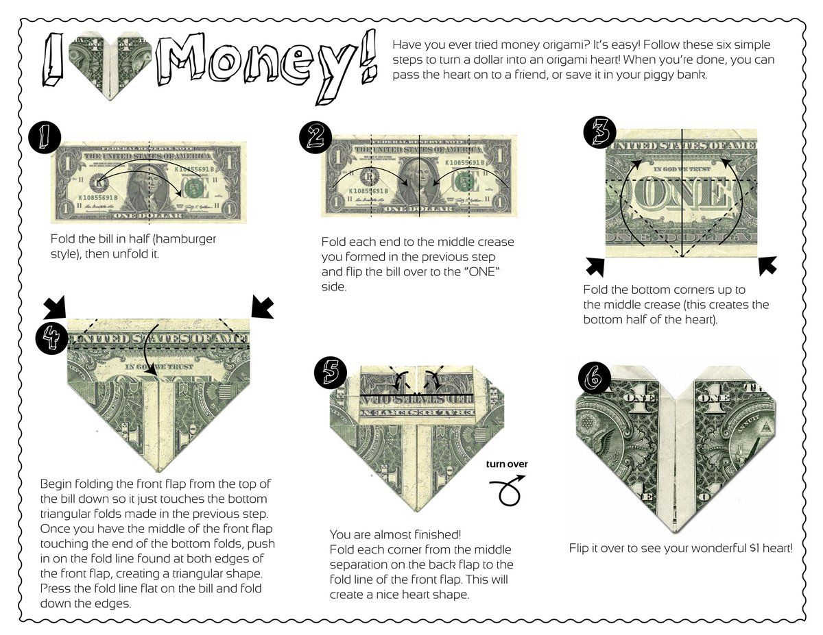 Money origami thats one interesting way to save your dollars money origami thats one interesting way to save your dollars jeuxipadfo Image collections
