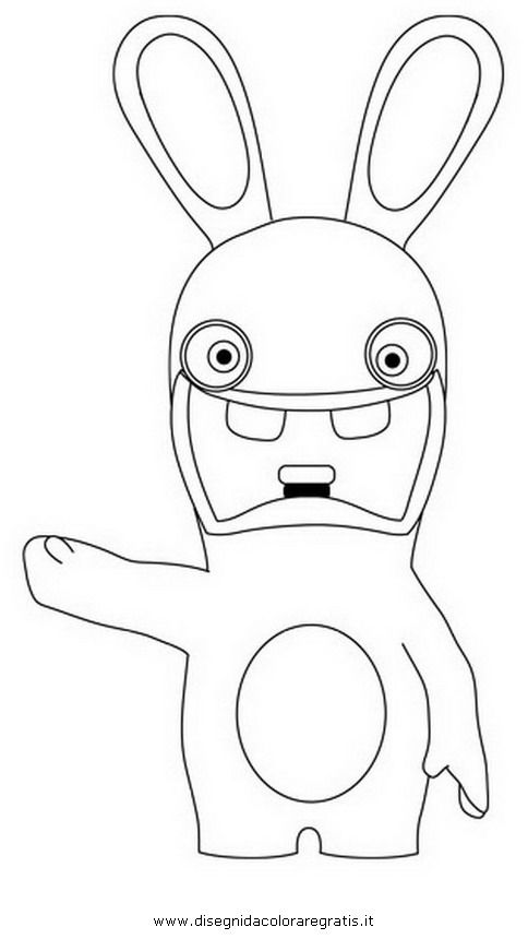 Resultado de imagen para rabbids invasion model sheet Emilio - best of bunny rabbit coloring pages print