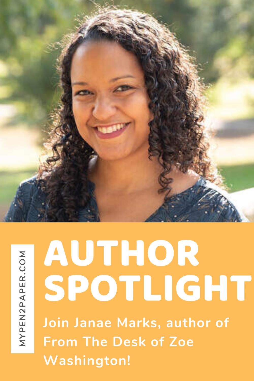 Author Spotlight Janae Marks In 2020 Author Spotlight Author Aspiring Author