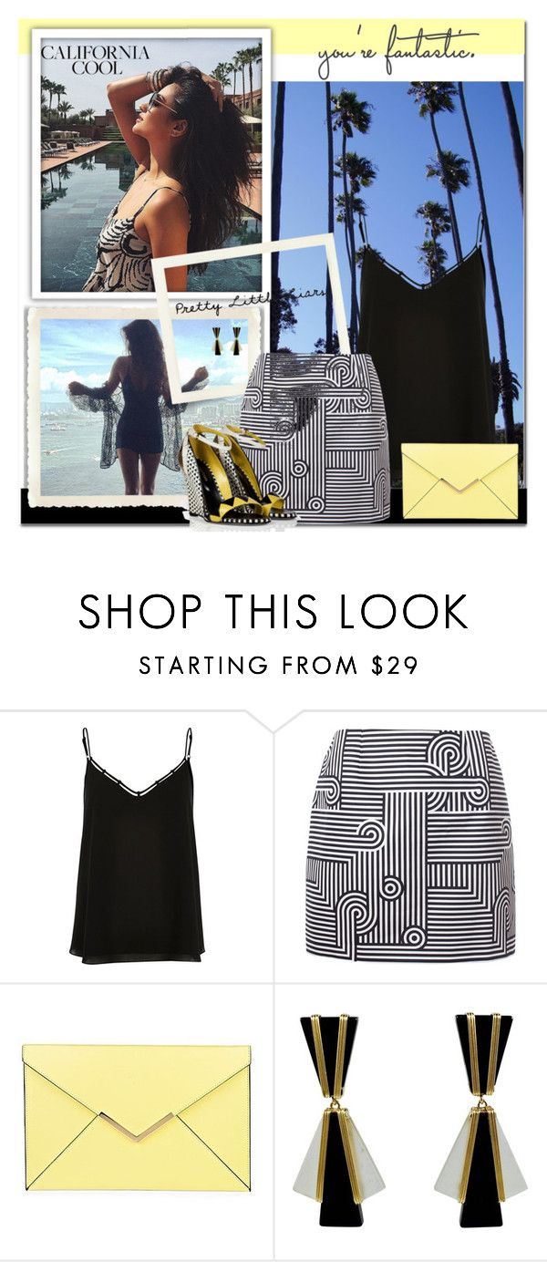 """""""Pretty Little Liars: Shay Mitchell"""" by seafreak83 ❤ liked on Polyvore featuring River Island, Victoria, Victoria Beckham, Sergio Rossi, women's clothing, women's fashion, women, female, woman, misses and juniors"""