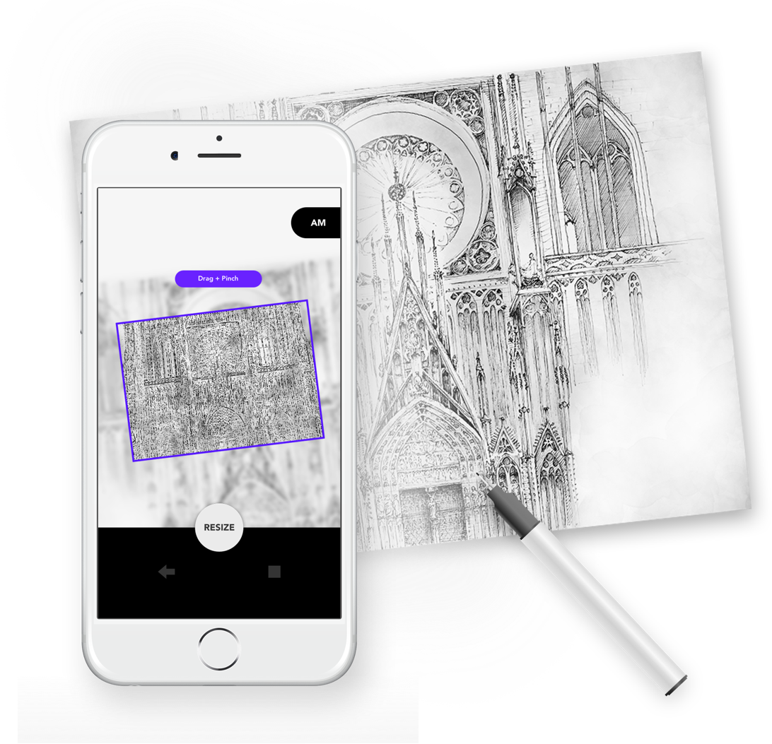 Grid Drawing Amp Tracing Paper App For Artists