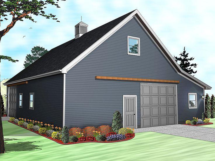 Outbuilding Plan 050b 0001 Garage Plans With Loft Architectural Design House Plans Garage Plan