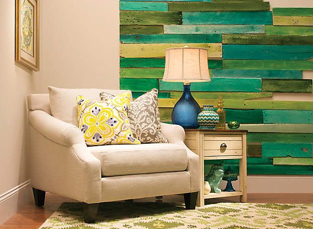 Green Accent Wall 20 creative accent wall ideas | green accent walls, green accents