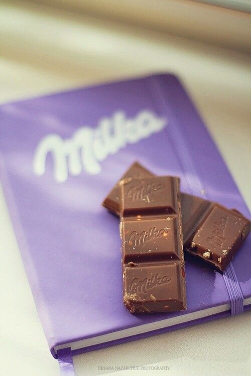 Milka Chocolate Notebook Milka шоколад сладости и вкусняшки
