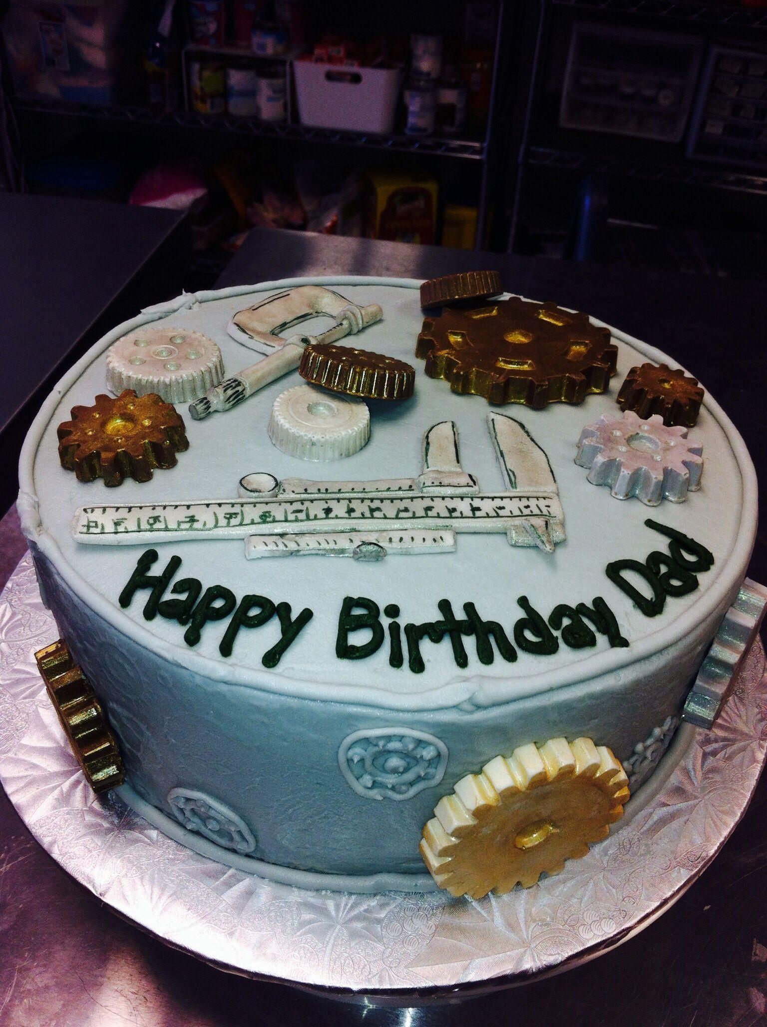 Engineering/Mechanics Cake Custom Cakes Pinterest