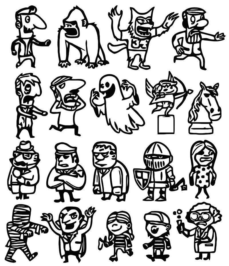 Jajdo Cartoonize Coloring Page. Also see the category to
