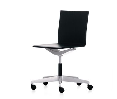 Inspirational VITRA 04 DESK CHAIR ARMLESS short lead time limited to Basic Dark shell Simple - Modern armless office chairs Unique