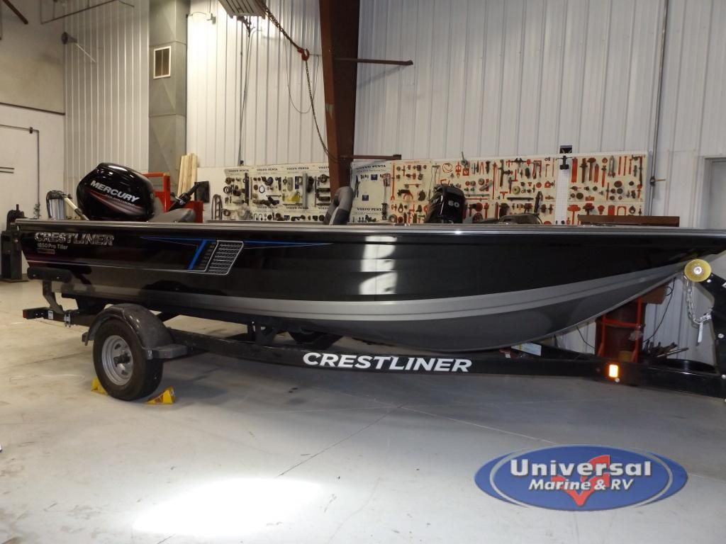 New 2018 Crestliner Pro Tiller 1850 Fishing Boat At Universal Marine Rv Rochester Mn 78304 Fishing Boats Bass Boat Boats For Sale