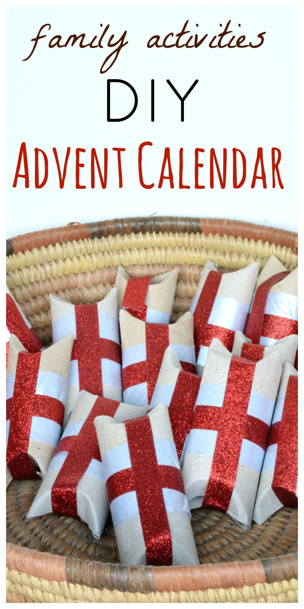 diy advent calendar from toilet rolls family christmas advent