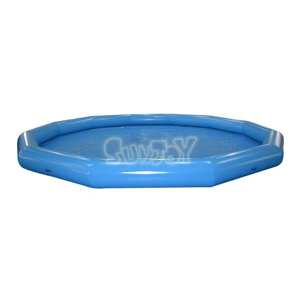 10m Round Blue Inflatable Pool For Sale Best Inflatable Swimming