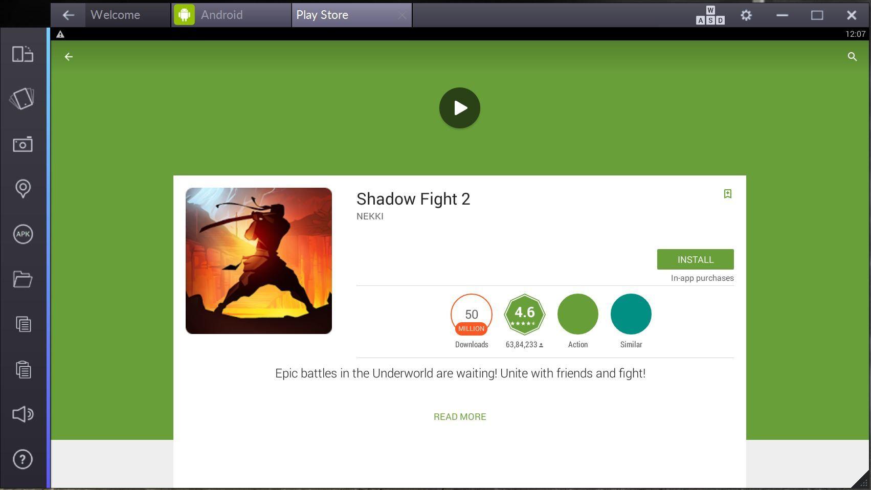 Schatten kämpfen 2 für PC Online kostenloser Download
