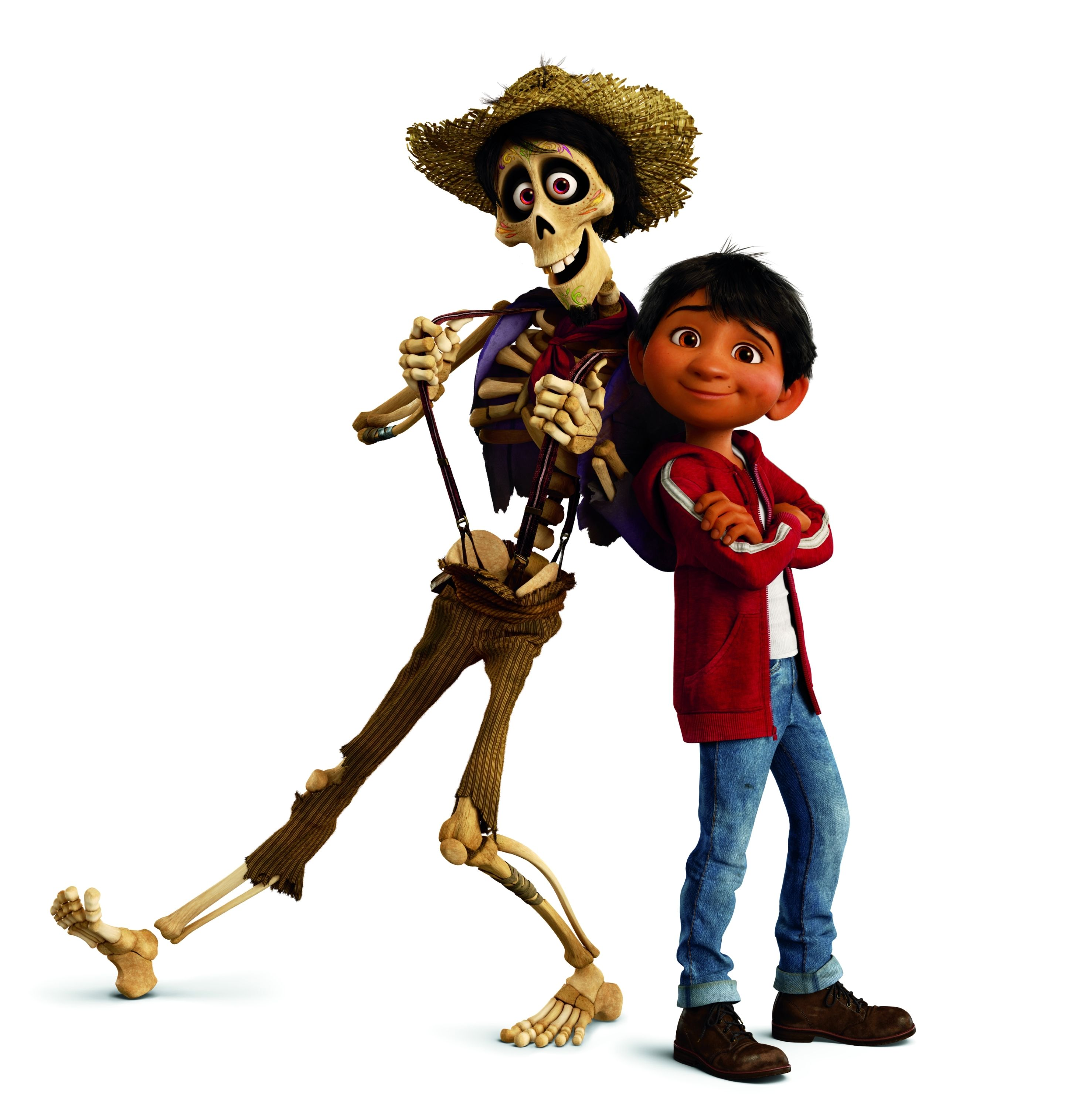 Miguel Rivera And Hector From Coco