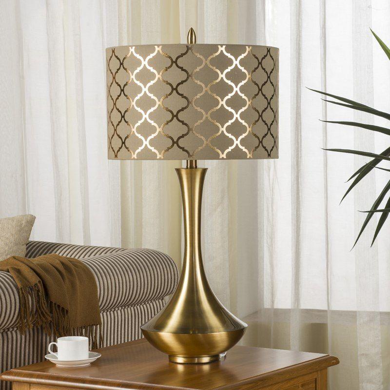 Tanie Luksusowy Metalelectroplating Rysunek Korpus Lampy