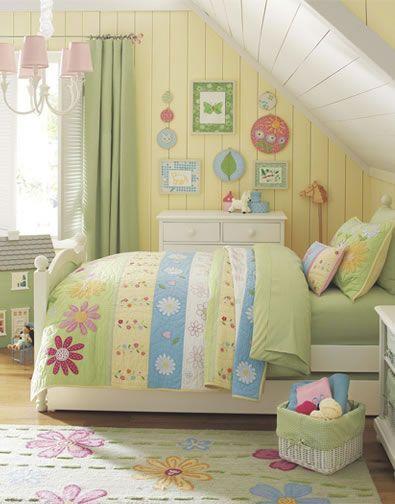 Ideas For A Girls Room Amp Girls Flower Bedroom Pottery