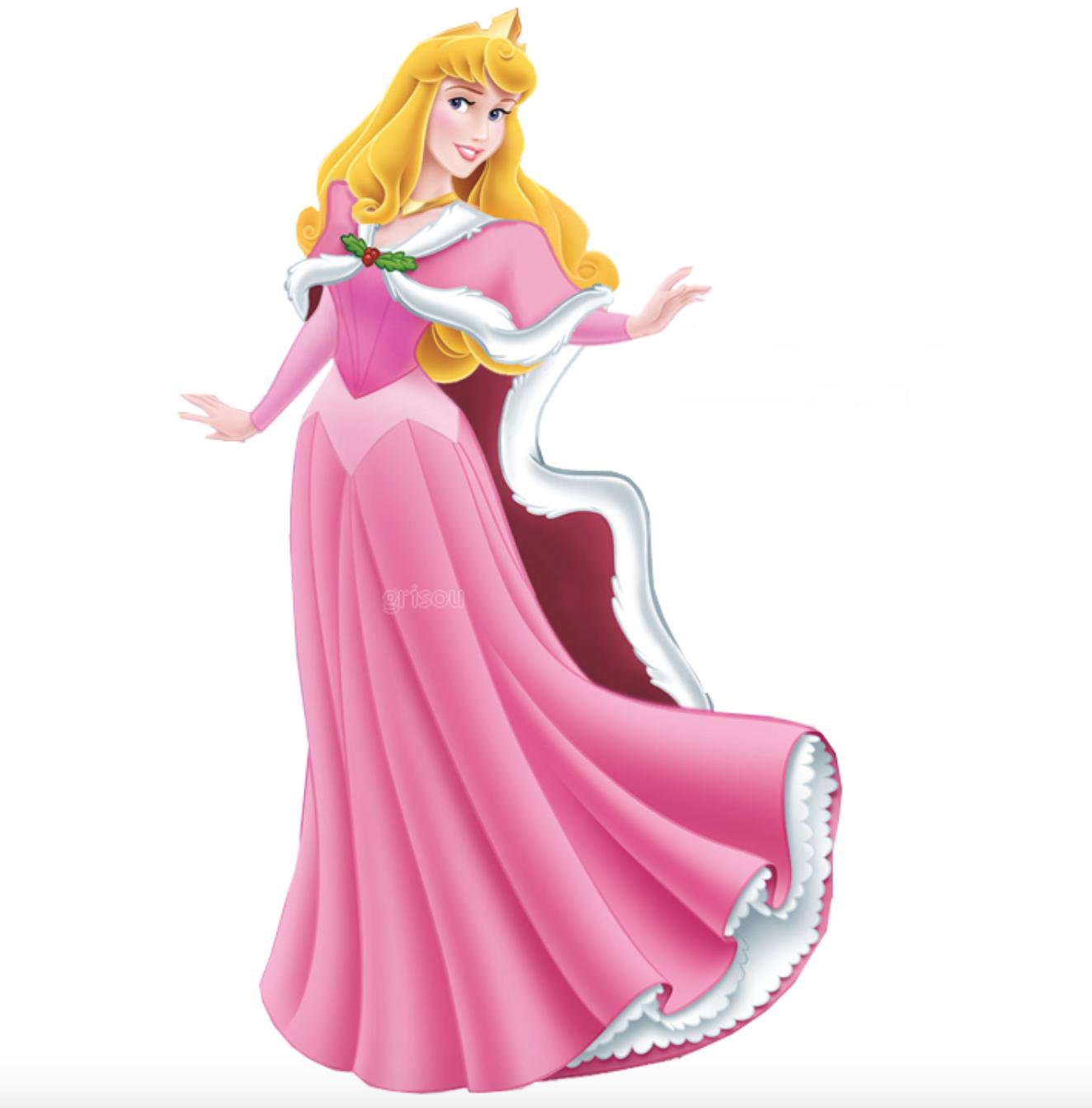Princess Aurora In Winter Christmas Disney Princess Aurora Disney Princes Princess Aurora