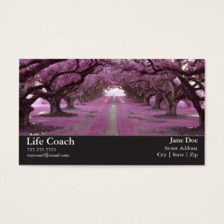 Life coach business card samples of business cards pinterest shop customizable life coach business cards and choose your favorite template from thousands of available designs reheart Images