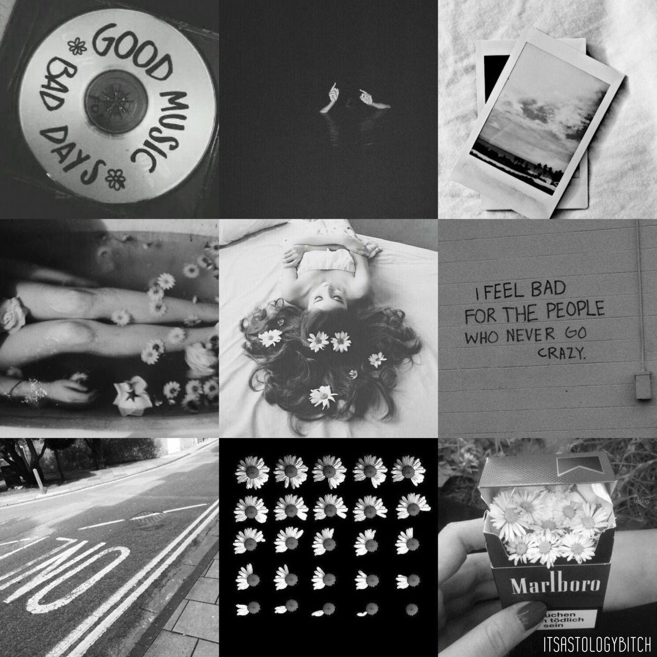 Virgo Color Aesthetic - Black & White •Black & White: Very ...