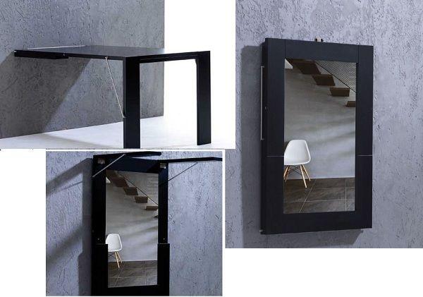 Mesa plegable pared mesas comedor pinterest mesa plegable mesas y mesa abatible - Mesa plegable pared ...