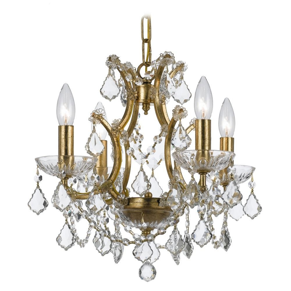 Crystorama lighting filmore antique gold crystal chandelier crystorama lighting filmore antique gold crystal chandelier at destination lighting arubaitofo Image collections