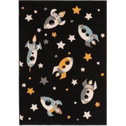 Photo of benuta Kinderteppich Juno Multicolor/Schwarz 120×170 cm – Teppich für Kinderzimmer benuta