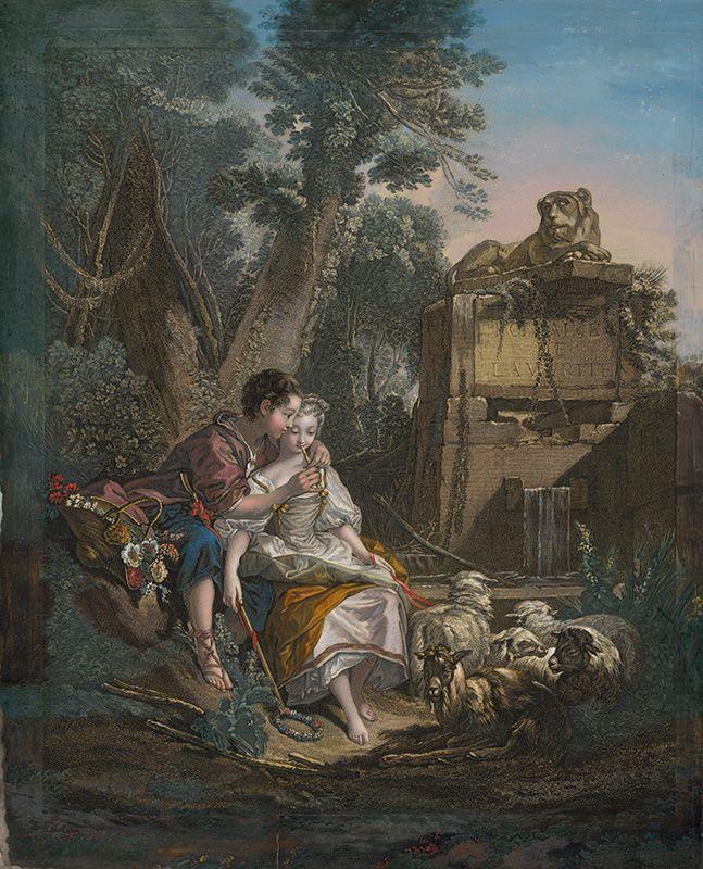 René Gaillard, François Boucher - Príjemná lekcia