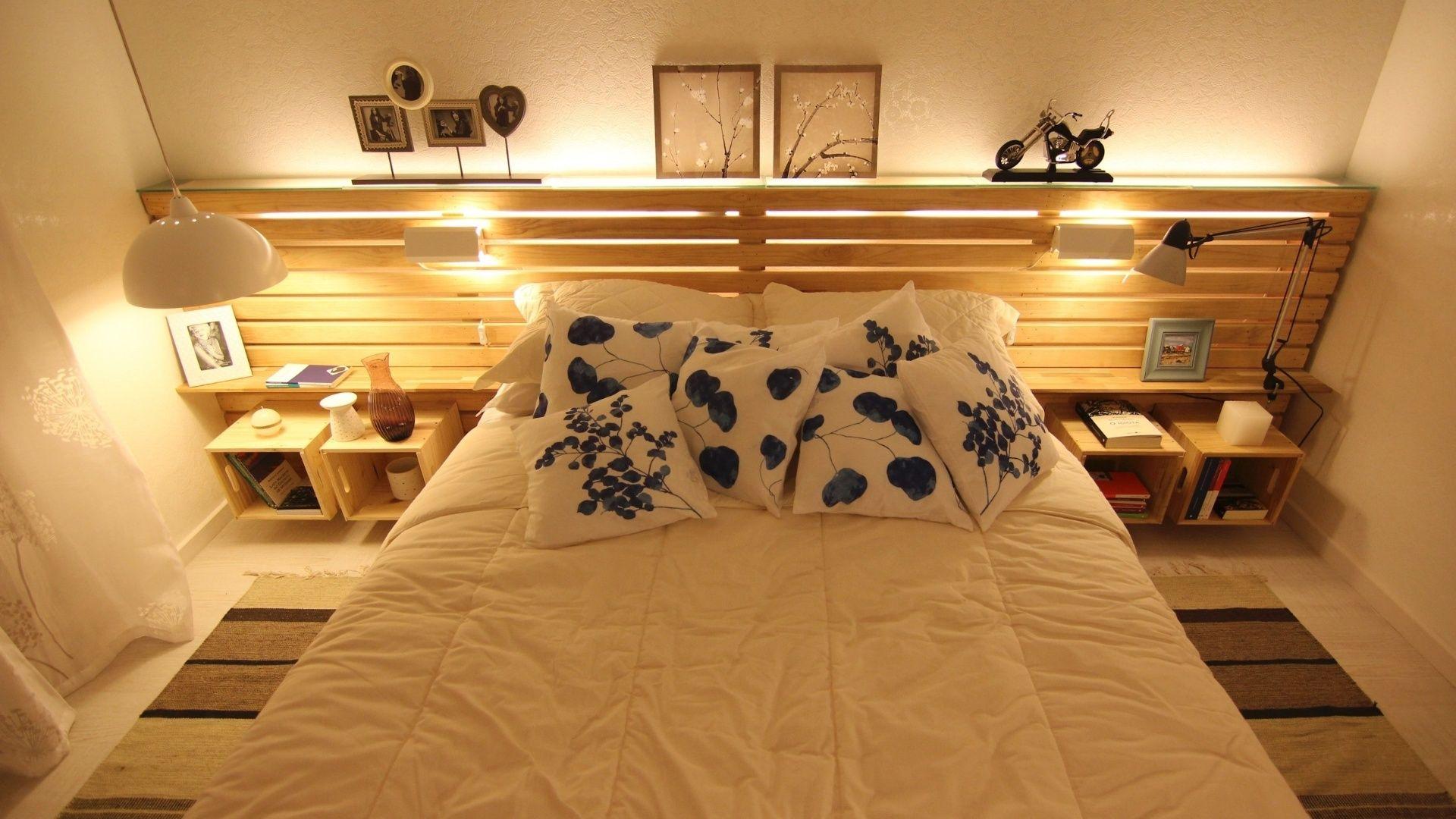 Quartos De Casal Pallets Bedrooms And Quartos ~ Ideias Para Quarto De Casal Pequeno