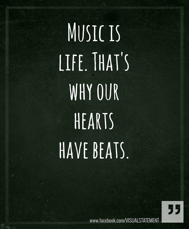Quotes About Music Gorgeous ♪ ♫ ♩ ♬ Music Is Life♪ ♫ ♩ ♬  The Sound Of
