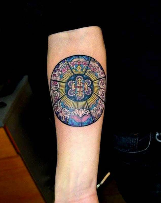 Why don't we see more stained glass tattoos?