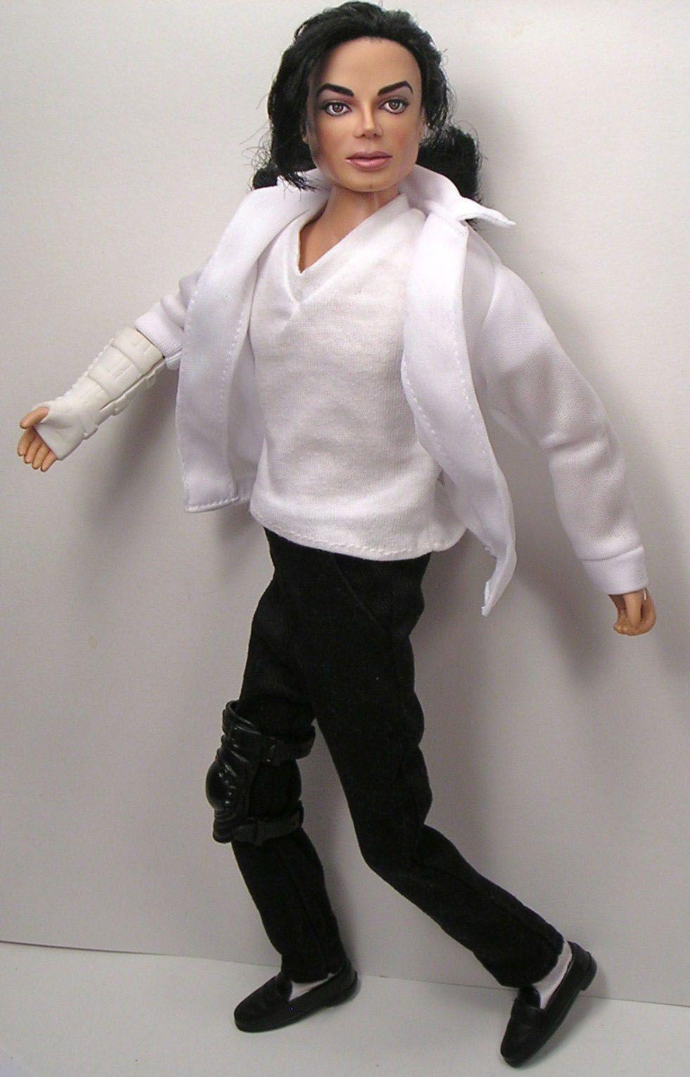 Photo of OOAK ~MICHAEL JACKSON~ Tribute Doll Art Repaint By Artist Pamela Reasor
