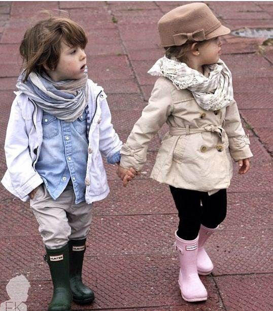 Love what the little boy's wearing and if we ever adopt a little girl, I will definitely have an outfit for her like this one!