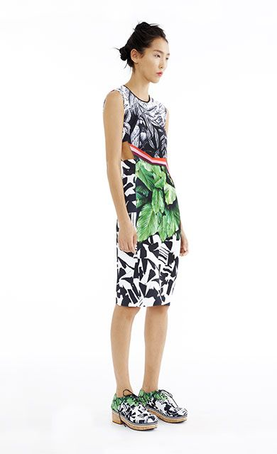 Nature's Divide Cutout Dress - Women's Spring 2015 Collection by Clover Canyon
