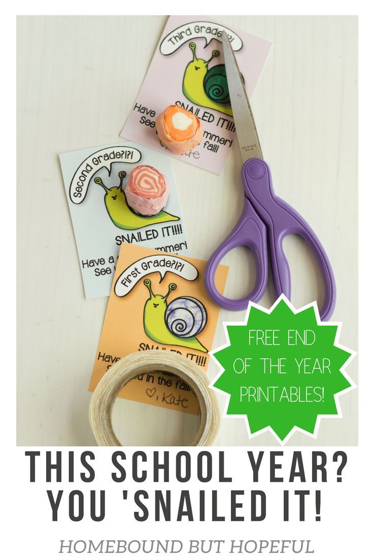 easy cute diy end of the school year gift for classmates
