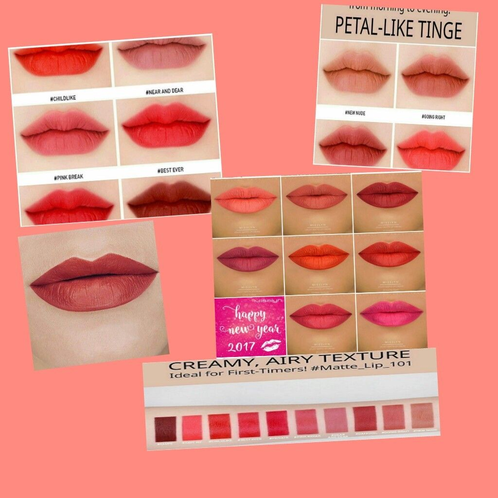 Misslyn velvet lip cream vs 3ce velvet lip tattoo (Dengan