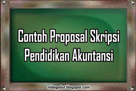Contoh Contoh Proposal Skripsi Http Sulutru Com Proposal Contoh