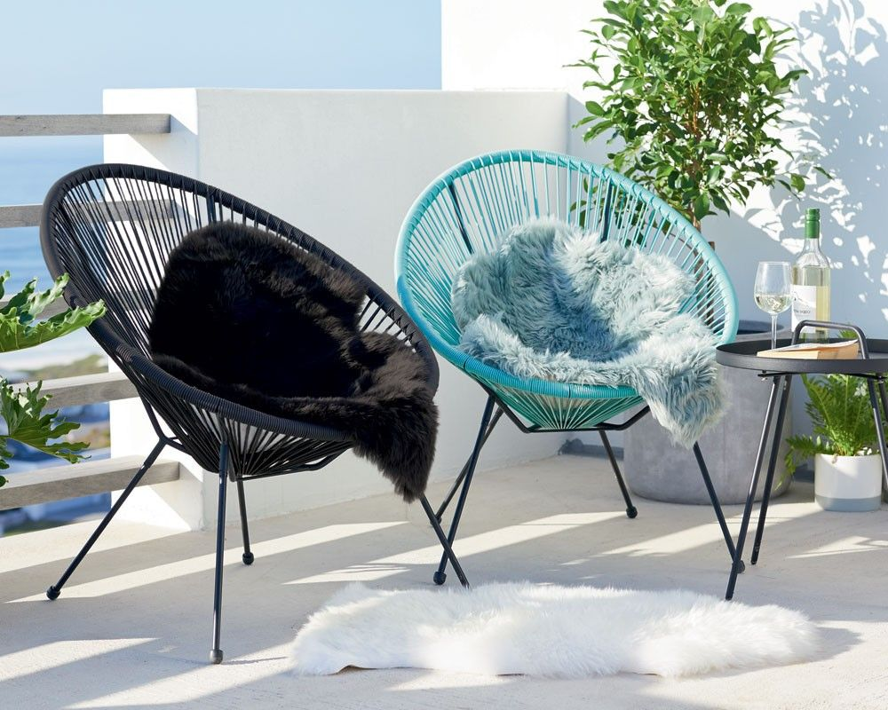 Ubberup Patio Chair Black Patio Chairs Chair Cool Furniture